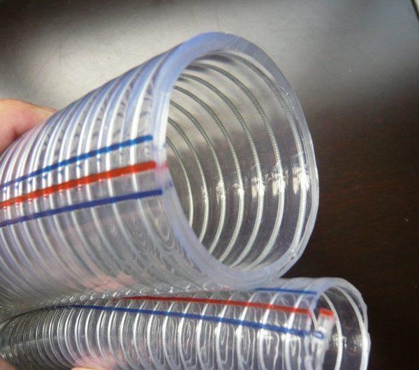 steel-wire-reinforced-pvc-hose-manufacturer